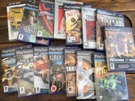 Ps2 pc console games Needs for speed call of duty soccer Assortment Used