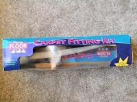 Carpet fitting kit