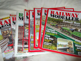 OVER 50 RAILWAY MODELLER MAGAZINES
