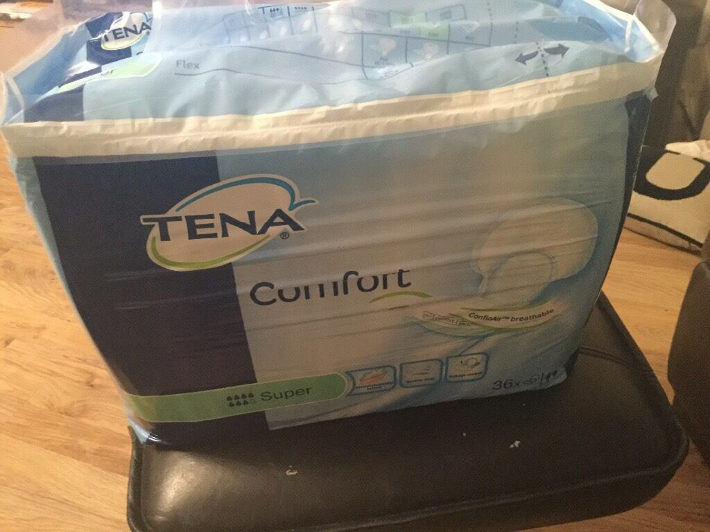 Tena Comfort 36 Large Adult Nappies Is 163 22 In Asda Brand