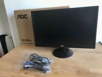 "LCD AOC2270SWDN 21.5"", new condition"