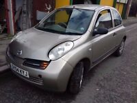 Breaking Micra 1.3s 85 k on clock , 10 months mot