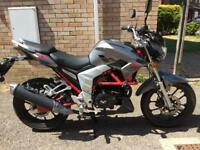 Lexmoto Venom 125 (extremely low mileage)
