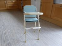 RETRO / VINTAGE TRI-ANG DOLLS / TOY HIGH CHAIR / LOW CHAIR AND STOOL