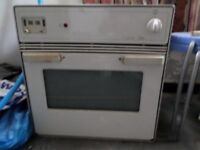 FREE HYGENA WHITE BUILT IN OVEN IN GOOD WORKING ORDER