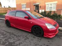 For sale stunning looking Honda Type R EP3 Car runs and drives spot on and pulls extremely well!