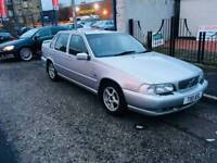 Volvo s70 2.4 t reg 1 year mot full leather tow bar luxury big car a towing king