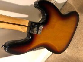Squier left-handed Jazz Bass