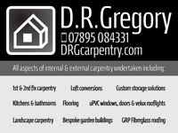 D.R.Gregory - Carpentry services