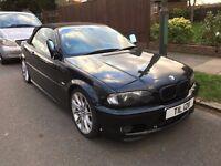 2001 BMW 330ci Automatic Convertible Petrol Black Xenon Sat Nav Harmon Kardon System Heated Seats