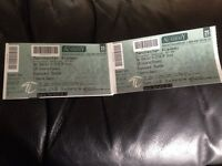 Sunset Sons tickets £20 for the two!