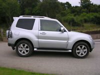 Mitsubishi Shogun Warrior SWB Silver Colour