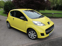 2010 (60) Peugeot 107 1.0 12v Urban Lite 3dr, ONLY 34K, Immaculate. Lowest Insurance. £20 tax. Ideal