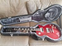 Epiphone Slash signature guitar with case.