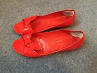 Sigerson Morrison red shoes