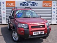 Land Rover Freelander (TD4 HSE) FREE MOT'S AS LONG AS YOU OWN THE CAR!!! (red) 2006