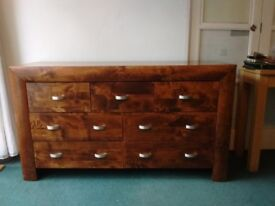 Two Wooden Sideboards