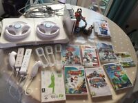 Nintendo Wii, Balance Board, Games and Accesories
