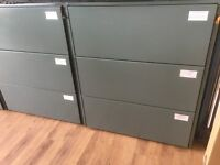 High quality steel 3 drawer filing cabinet