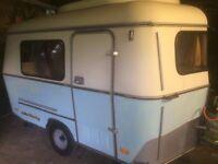 1983 Eriba Puck Caravan