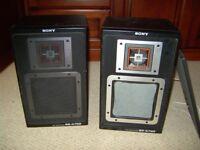 Shelf top speakers