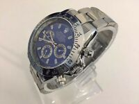 Rolex Oyster Daytona automatic watch with blue dial