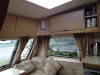 Abbey Vogue 495 2009 model. Excellent condition, fixed bed and all the usual refinements.
