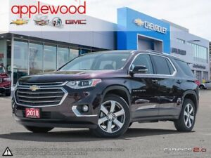 2018 Chevrolet Traverse 3LT GM COMPANY CAR, ONLY 8484 KM AND...