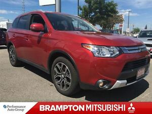 2015 Mitsubishi Outlander GT AWC (LEATHER INTERIOR! SUNROOF!)