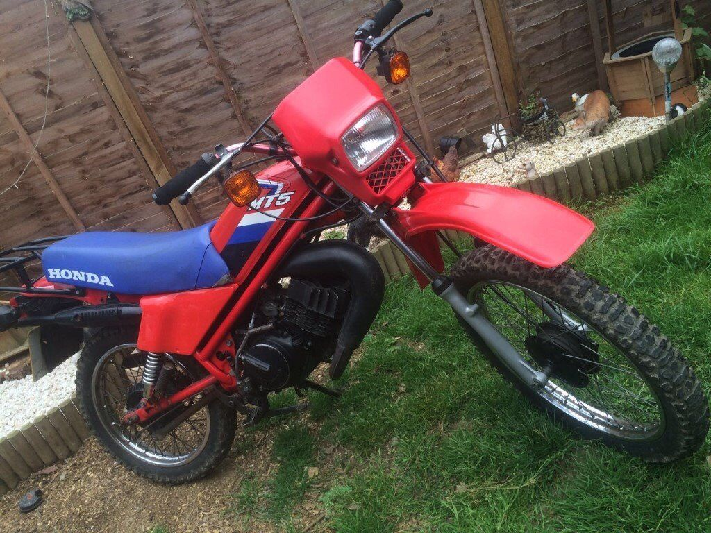 honda mt50 50cc motorcycle 1987 in crawley west sussex. Black Bedroom Furniture Sets. Home Design Ideas