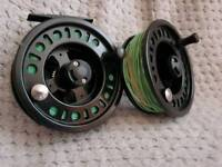 LA 7/8wt Fly Reel With Loaded Line & Backing