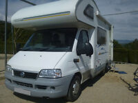 Motorhome 4-berth Swift Sundance 590rs 2.3 td