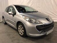 2008 Peugeot 207 1.4 m:play 3dr *** Full Years MOT ***