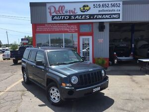 2008 Jeep Patriot SPORT NO ACCIDENTS