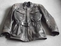 CLASSIC LEATHER TOURING JACKET by RICHA of BELGIUM.