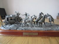 Limited Edition Pewter Diorama by Franklin Mint