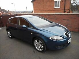 2008 seat leon 19 tdi{fsh,1 owner,full mot,good spec}