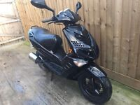 Peugeot speedfight 2 100cc scooter moped 75 mph 12 months mot