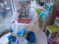 Blue Monkey Trike