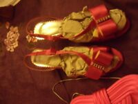 Size 6 Silk M&S new shoes