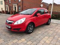 Vauxhall Corsa 1.0 petrol reg 2009 mileage 51,000