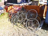 Free Scrap Metal Bike Frames and Wheels