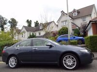 12 MONTH WARRANTY! (2005) HONDA Accord Executive 2.2 CTDi One Owner - 80,000 Miles - FSH (12 Stamps)