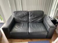 FREE. 2 seat faux leather sofa