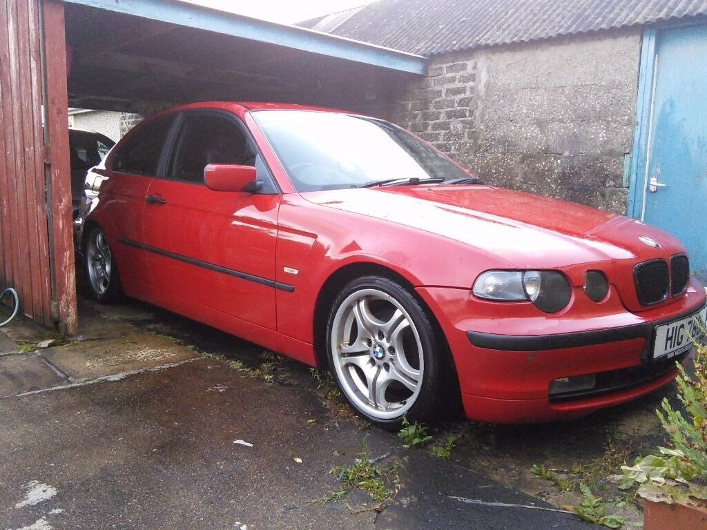 red bmw e46 320td se compact m sport extras like 318ti 325ti 320d 330 for parts in coleraine. Black Bedroom Furniture Sets. Home Design Ideas