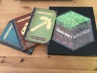 Minecraft book set