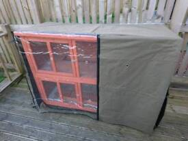 Guinea pig / rabbit cage with cover