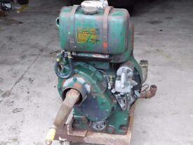 PETTER PJ1 AIR COOLED SINGLE CYLINDER DIESEL ENGINE