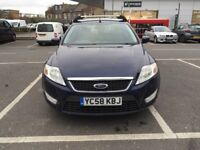 2009 FORD MONDEO ESTATE 2.0L DIESEL WITH MOT EXCELLENT CONDITION