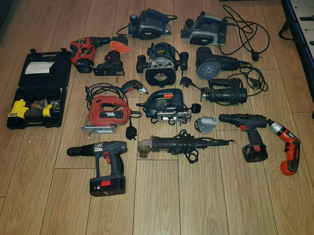 Power tools all working